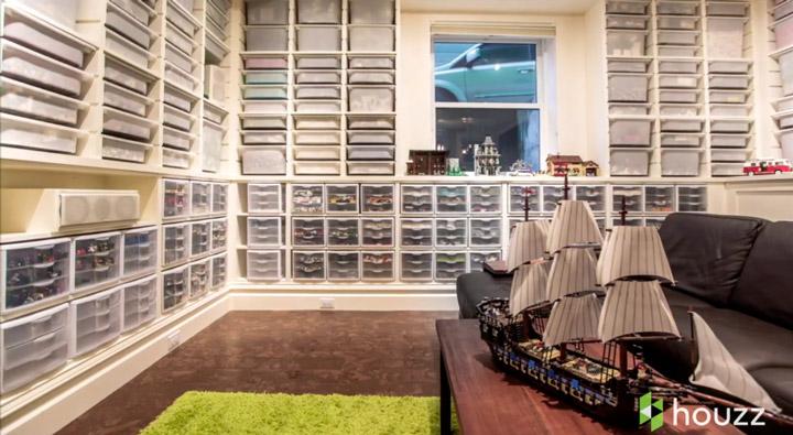 Jeffrey Pelletier Lego House Basement