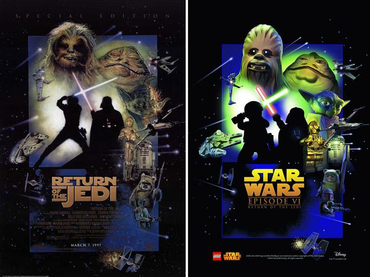 Lego Star Wars Return Of The Jedi Poster