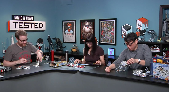 Tested Lego With Friends, Veronica Belmont