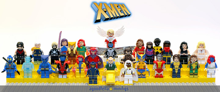 agoodfella minifigs' Lego X-Men
