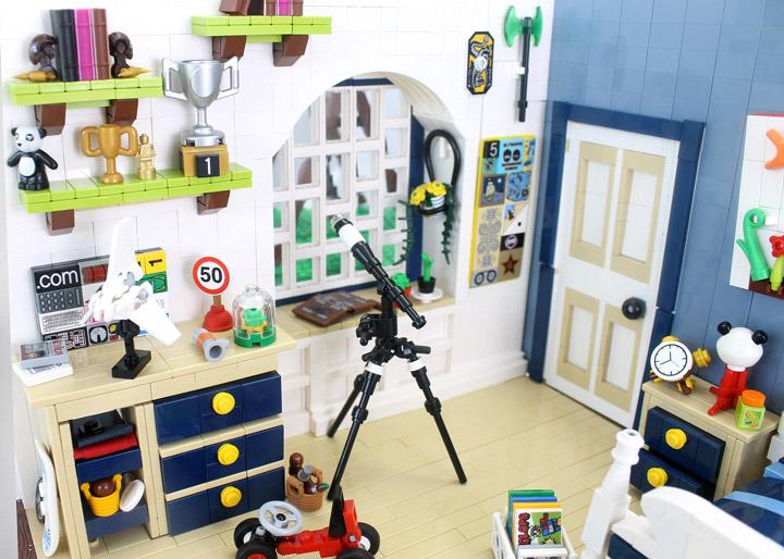 Cesar Soares's Lego Kids Room Detail 01