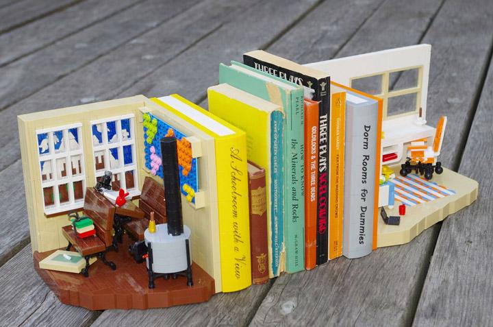 Deborah Higdon's Lego Bookends