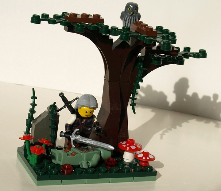 Justin Stebbins's Lego The Witcher