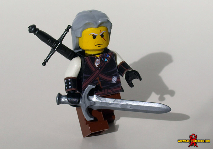 Justin Stebbins's Lego The Witcher, Geralt Of Rivia
