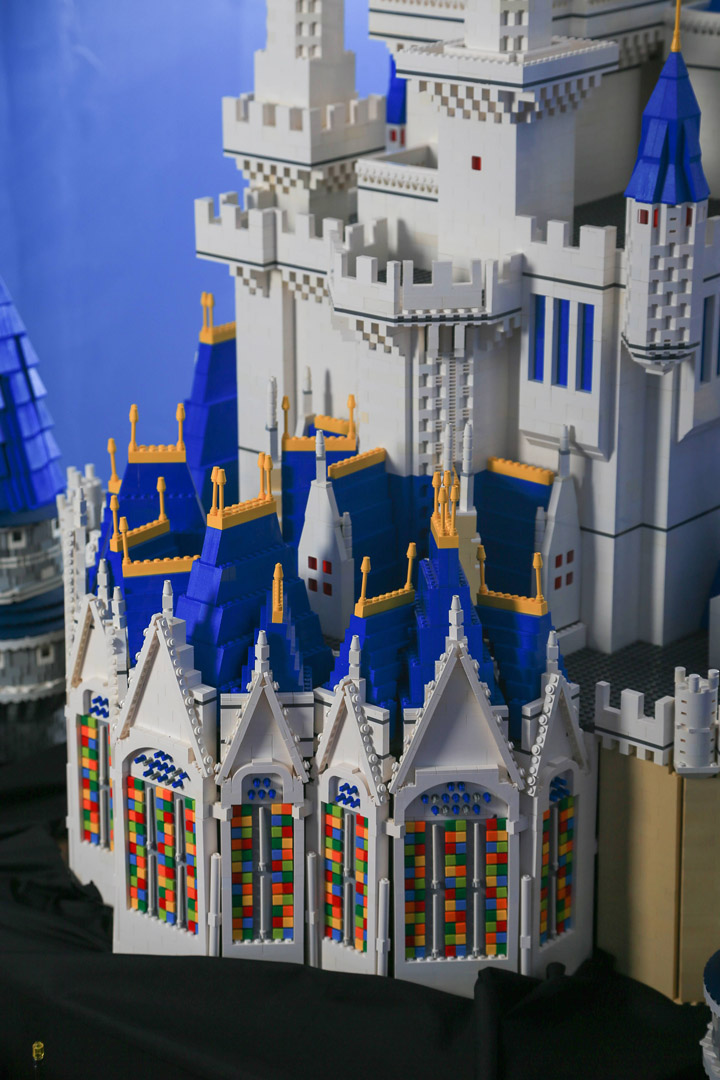 LegoCastle's Lego Disney Cinderella Castle Windows