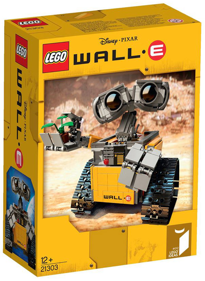 Lego Ideas WallE Box 21303