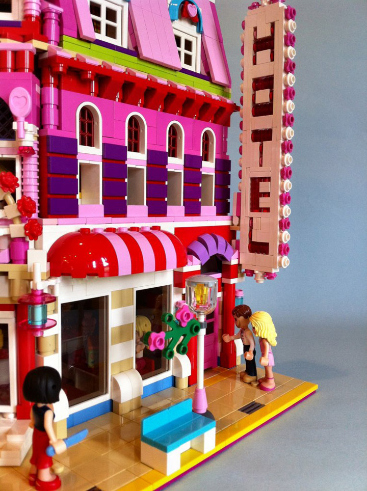 Lego Friends Lovely Hotel Details