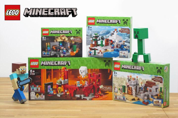 New Lego Minecraft Sets 2015