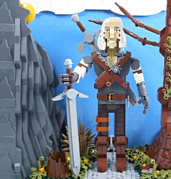 Letranger Absurde Lego Witcher