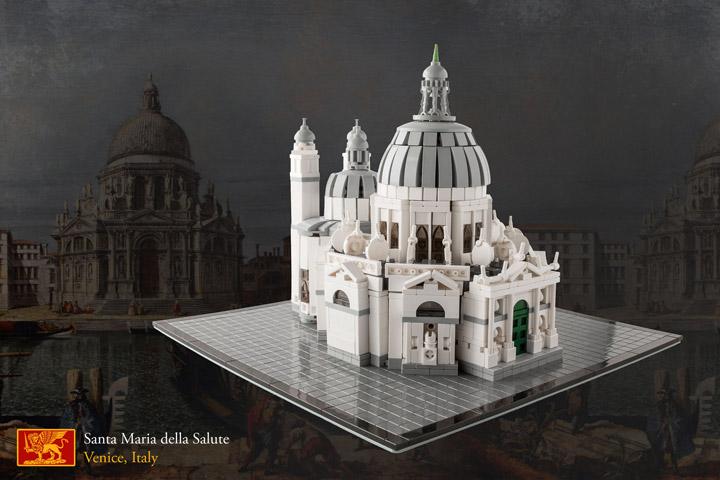 Markus's Lego Architecture Santa Maria Della Salute, Venice