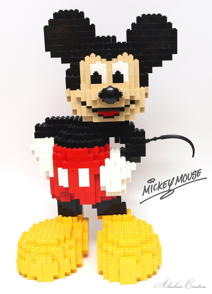 alanboar's Lego Mickey Mouse
