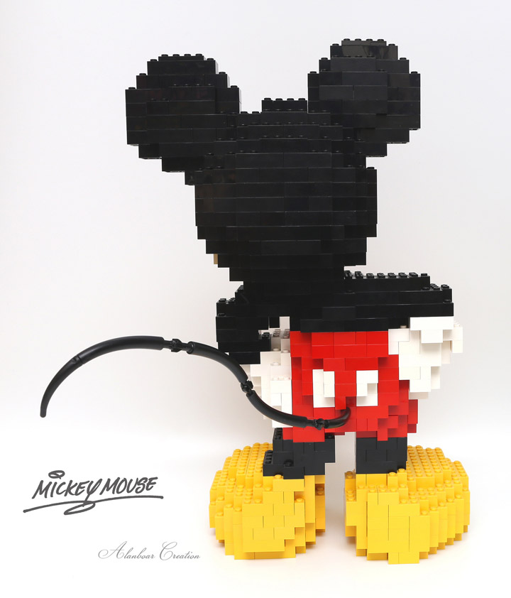 alanboar's Lego Mickey Mouse Back