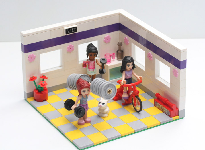 drspock888's Lego Friends Exercise Room