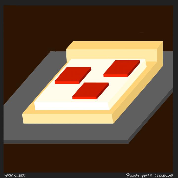 Bricklies: Lego Pizza