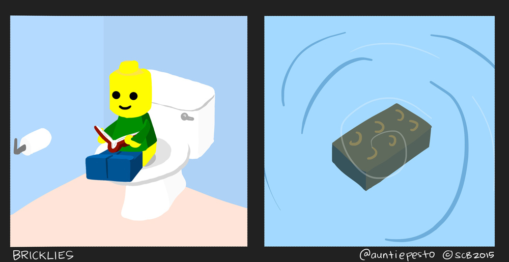 Bricklies: Lego Poops