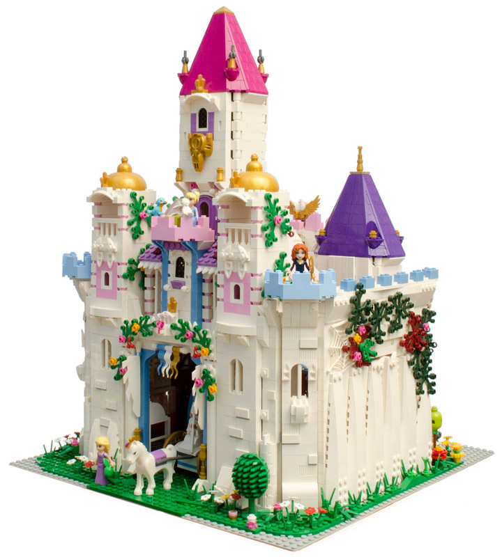 Hrczs1's Lego Friends Princess Castle
