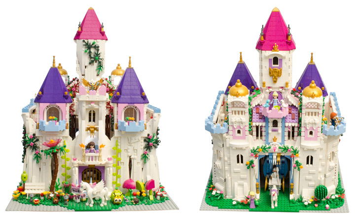 Hrczs1's Lego Friends Princess Castle Views