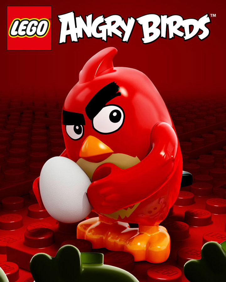 Lego Angry Birds Red