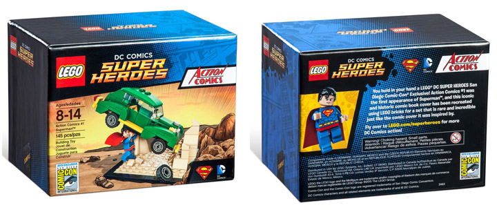 Lego Exclusive SDCC 2015 Action Comics Superman