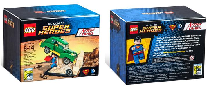 Lego Exclusive SDCC 2015 Action Comics Superman
