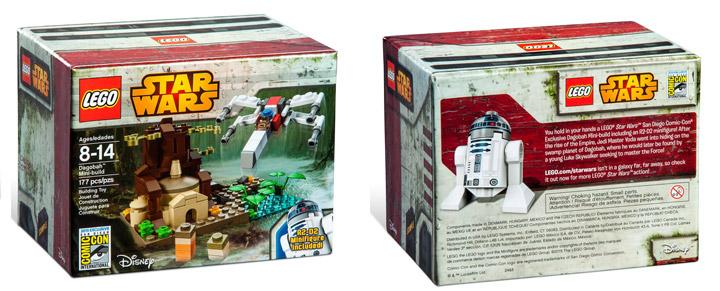 Lego SDCC 2015 Star Wars Dagobah Mini Build