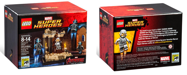 Lego Exclusive SDCC 2015 The Avengers Thone Of Ultron