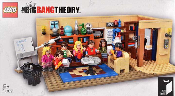 Lego The Big Bang Theory Cover