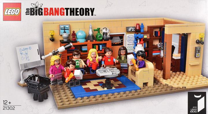 Lego The Big Bang Theory Cover