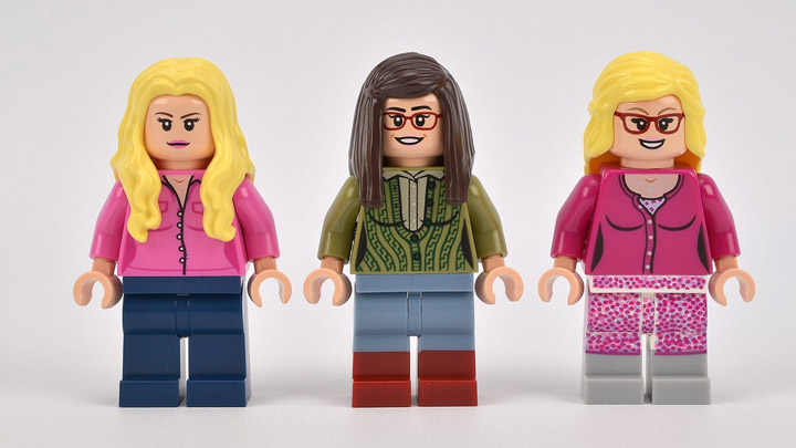 Lego The Big Bang Theory 21302 Female Minifigures