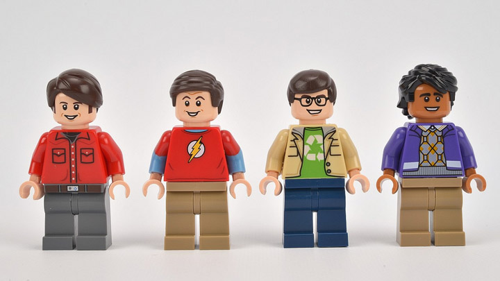 Lego The Big Bang Theory 21302 Male Minifigures
