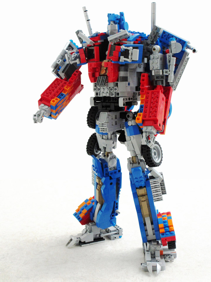 Lego Transformers Toys : This lego transformers optimus prime is more than meets…