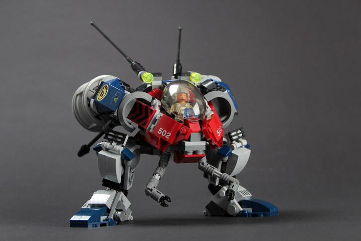 rongYIREN's TwinBee Lego Mech
