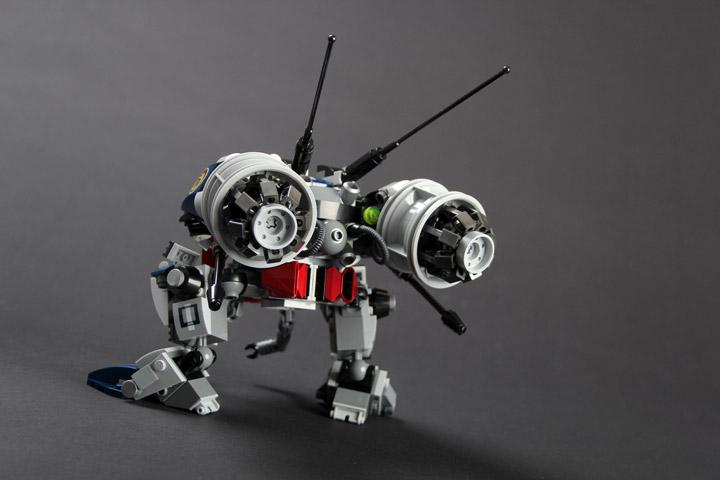 rongYIREN's Twin Bee Lego Mech Back