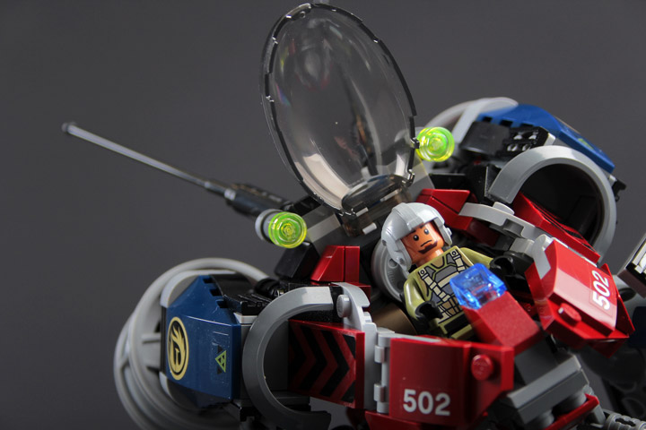 rongYIREN's Lego Mech Detail