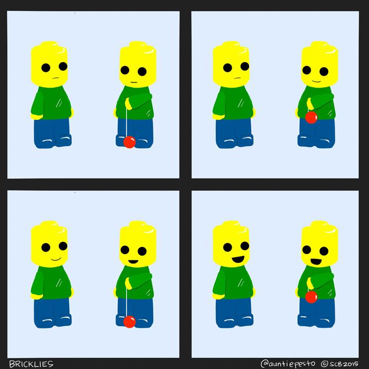 Bricklies: Lego Yo-Yo