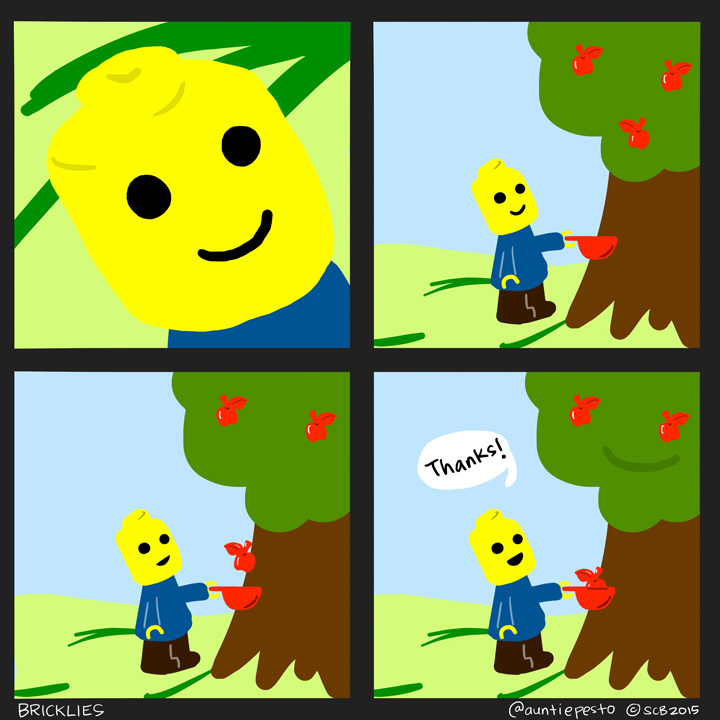 Bricklies: The Lego Apple Tree