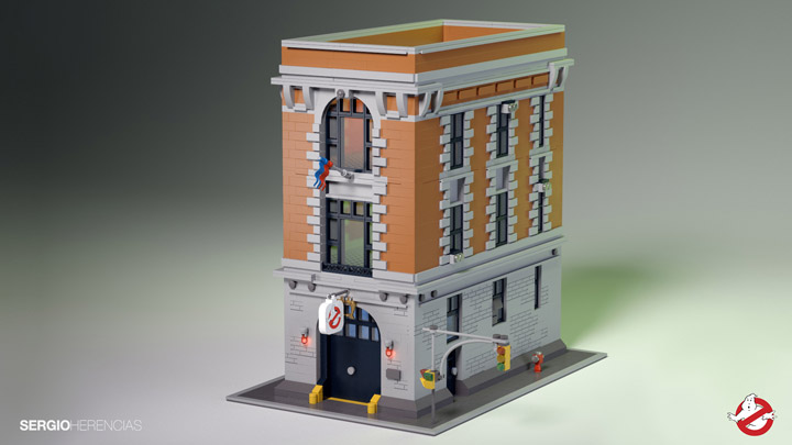 Lego Ghostbusters Headquarters Firehouse