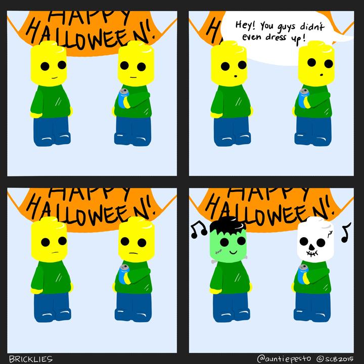 Bricklies: A Lego Halloween