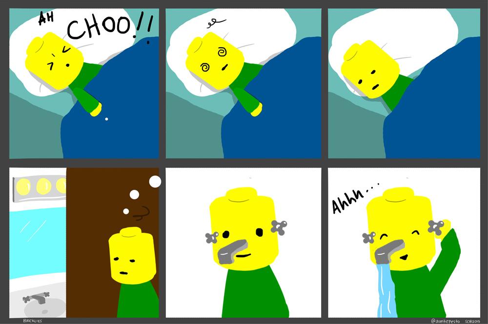 Bricklies: Lego Cold