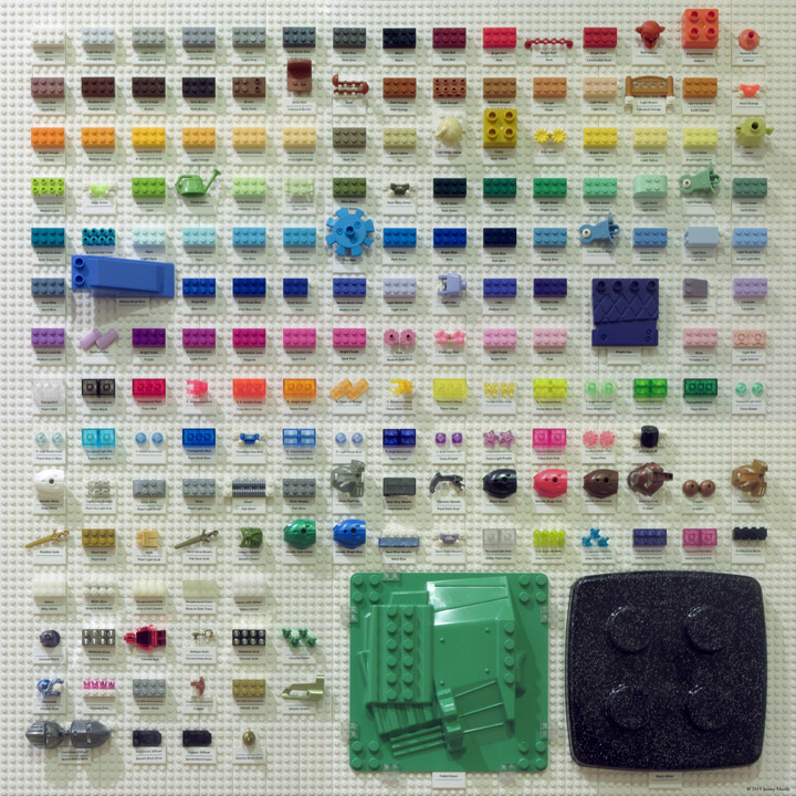 Jeremy Moody's Lego Color Chart