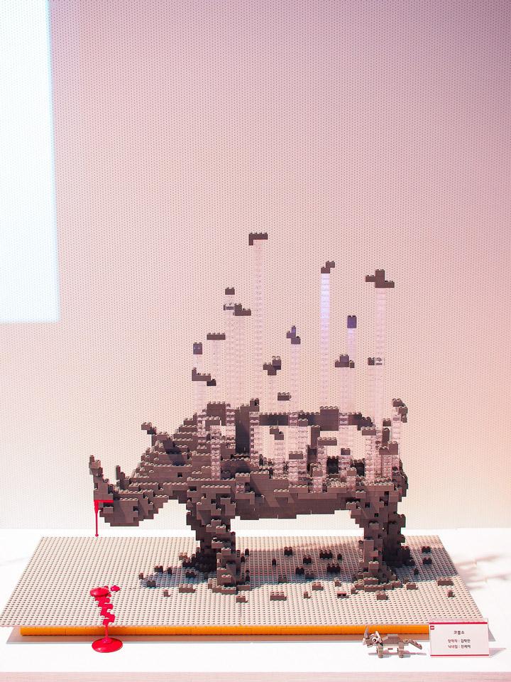 Jin Kei's Lego Rhinoceros