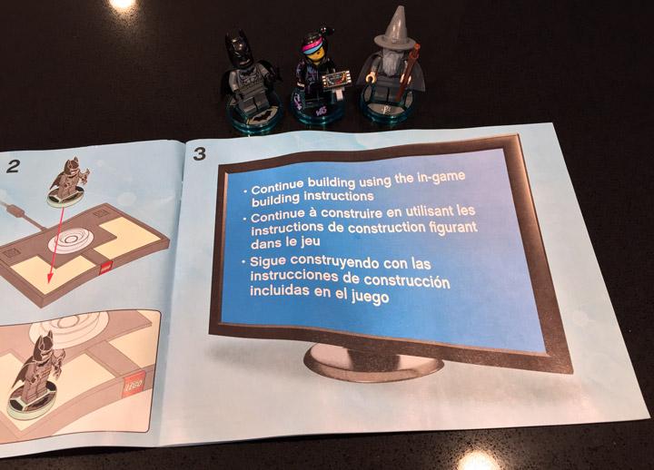 Lego Dimensions 71171 Continue