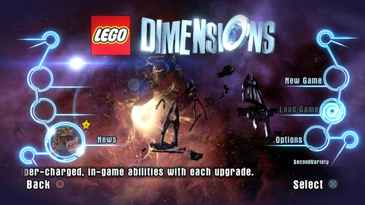 Lego Dimensions Tile Screen