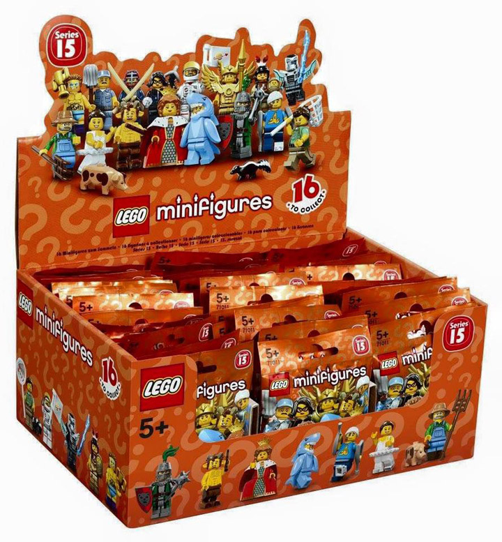 Lego Minifigures Series 15, 71011, Box