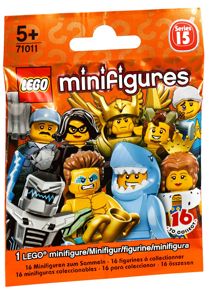 Lego Minifigures Series 15, 71011, Pack