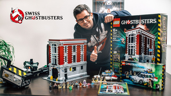 Swiss Ghostbusters's Lego Ghostbusters Firehouse Headquarters 75827 Review