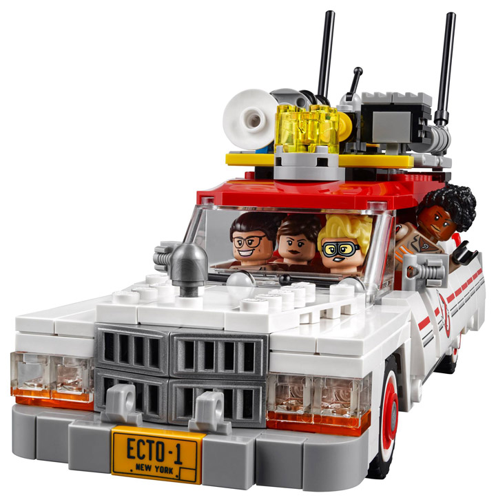 New Lego Ghostbusters Ecto-1 Ecto-2 75828 Front