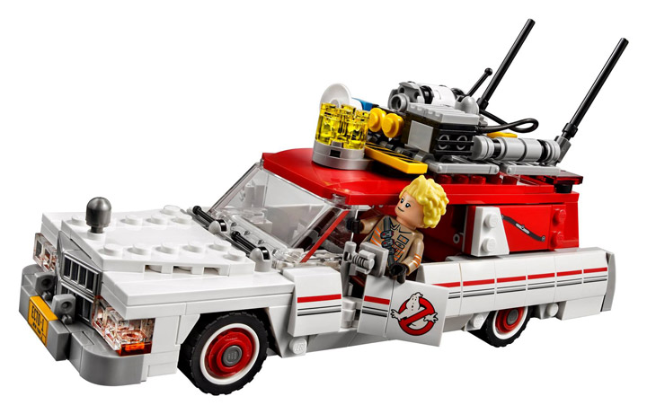New Lego Ghostbusters Ecto-1 Ecto-2 75828 Side