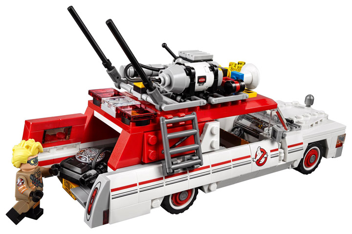 New Lego Ghostbusters Ecto-1 Ecto-2 75828 Rear