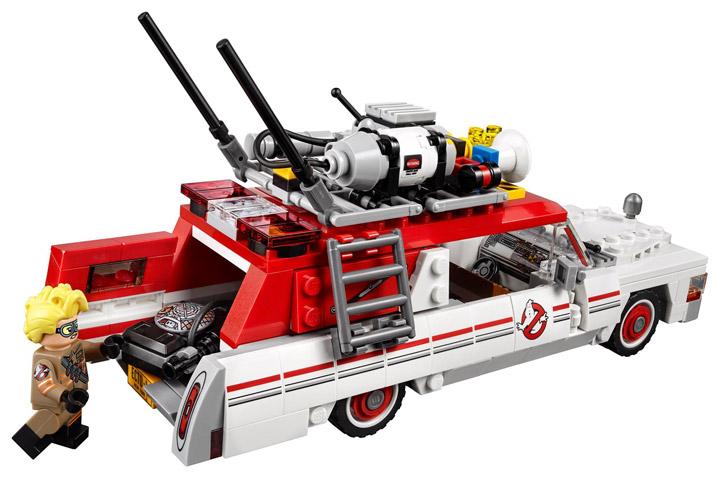 New Lego Ghostbusters Ecto-1 Ecto-2 75828 Rear